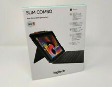 Logitech SLIM COMBO Apple iPad 5th/6th Gen DE Tasche QWERTZ Bluetooth Tastatur