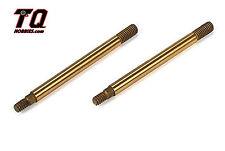 TLR5064 Rear Shock Shaft Titanium (2): SCTE 2.0 Fast Shipping wTrack#