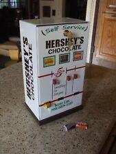 hershey's chocolate triple column vending machine diner candy mancave gameroom