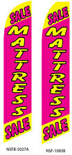 TWO Mattress Sale (pink) 15 foot Swooper Feather Flag Sign
