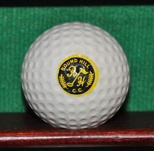 Vintage Round Hill Country Club Logo Golf Ball