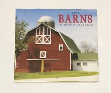 2019 Barn Monthly Calendar Mini 5.6x5.3 Inch Craft Photography Art 16 Photos