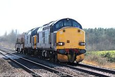 British Rail / DRS 37606 & 37602 (6M63) Rail Photo