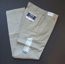 NWT IZOD Heritage Chino Flat Front Wrinkle Free Slim Fit Mens Pants