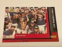 2019-20 Panini Instant Basketball Lakers Set #30 - Los Angeles Lakers Team