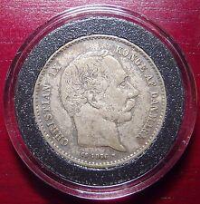1876 Denmark Silver Krone