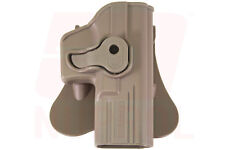 TAN NUPROL Retention Holster Glock 17 All Variants Fits Airsoft WE, TM, KWA, VFC