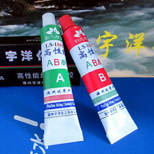 A+B Epoxy Resin Adhesive Glue Cast Crack Bubble Repair For Plastic Metal Wood