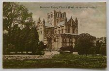 Buckfast Abbey Church East as restored today Vintage Postcard (P307)