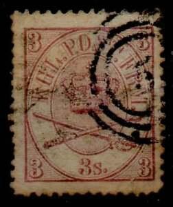 DANIMARCA Regno di Cristiano IX 1864-70