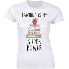 Teaching Is My Super Power - Teacher's Day Short Sleeve T-shirt