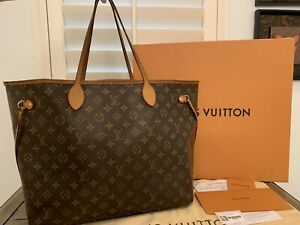 2015 Louis Vuitton Monogram Neverfull GM Tote Bag - Receipt (M40990)