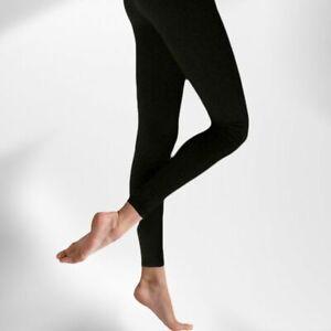 Silky Everyday Soft Leggings Black sizes S M L XL
