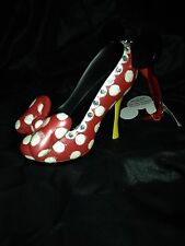 NEW DISNEY PARKS Minnie Mouse SHOE ORNAMENT CHRISTMAS