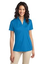 Port Authority L540 Womens Dri-Fit Silk Touch Polo XS-4XL Golf Shirt