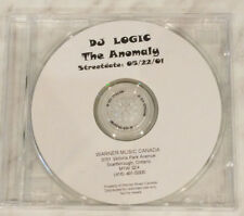 DJ Logic Advance CD - The Anomaly - 05/22/01 Streetdate - Warner Music Canada
