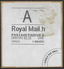 """Great Britain / UK: """"A"""" Royal Mail £2.25 Postage Paid International Label- ow408"""
