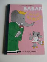 37X27 cm BABAR et sa fille isabelle albums hachette LAURENT DE BRUNHOFF 1992