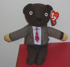 Ty Beanie Baby ~ MR. BEAN Teddy Bear (Jacket & Tie) (UK Exclusive) MWMT