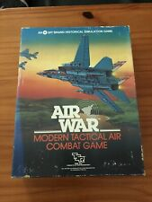 SPI TSR Boxed Wargame Air War Board Game Migs Tactical Aerial Combat Simulation