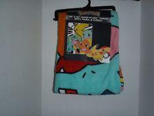 POKEMON Super Plush Throw Blanket 46 x 60 Pikachu & Gang New With Tags