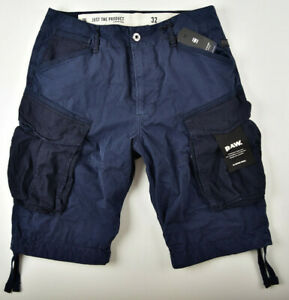 G-STAR RAW, Rovic Loose Shorts 1/2, Gr. W33 Bermuda Cargoshorts Herrenshorts