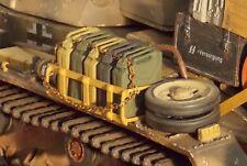 1/16 BearTank Regiment Model Stowage Rack &5Jerry Cans for PANZER III & StuG III