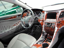 2011 2012 2013 2014 INTERIOR WOOD DASH TRIM KIT SET FOR HYUNDAI SONATA GLS SE