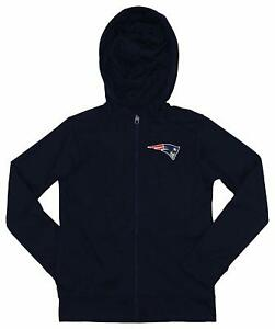 Outerstuff NFL Youth/Kids New England Patriots Performance Full Zip Hoodie