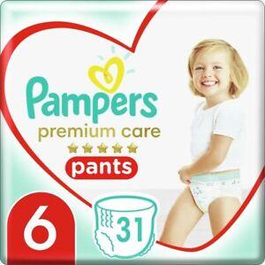 "Pampers Premium Care Pants XL Gr. ""6"" 15+ Kg 31 Windeln/Packung"