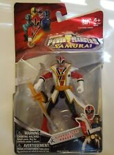 "Sabans Power Rangers Super Samurai Ranger Fire 4"" Red  #31701 Bandai  4+ NIP"