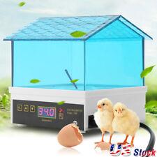4 Digital Clear Egg Incubator Hatcher Automatic Egg Turning Temperature Control