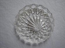 2 Kristall-Untersetzer fuer Weinflaschen oder Karaffen - ca. 50er/60er Jahre