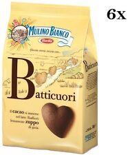 6x Mulino Bianco Kakao Kekse Batticuori Italien biscuits cookies kuchen brioche