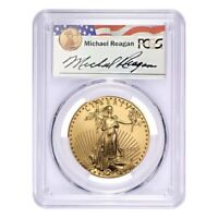 1 oz $50 Gold American Eagle PCGS MS 69 - Reagan Legacy Series (Random Year)