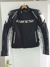 Dainese Racing 3 D-Dry Waterproof Motorcycle Textile Jacket EU 50 / UK 40 Sports