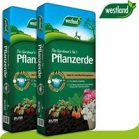 Westland 2 x 20 l Pflanzerde »Die Nummer 1 für den Garten in England«