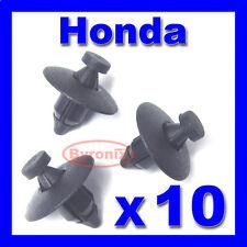 Honda parachoques Rueda Arch Trim Clips Plástico remache y enajenación forzosa Forro X 10
