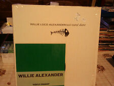 "willie loco alexander""taxi-stand diane""lp12""+ 45 trs7""lonely avenue"".newrose:39"