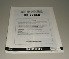 Assembly Instructions Suzuki Third - Z70 K8 Stand 06/2007