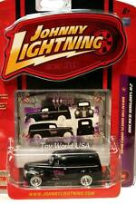 2008 Johnny Lightning WICKED WAGONS #04 1940 Ford Sedan Delivery R.2