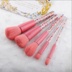 5pcs Hot Makeup Brushes Set Face Cosmetic Eye Shadow Blush Brush Make Up Tool
