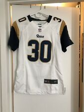 Nike Todd Gurley II Los Angeles Rams Women's White Player Game Jersey