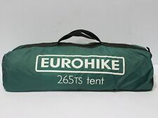 Eurohike Green 265 TS Tent 2 Person Tent Camping Staycation Summer Holiday- 232