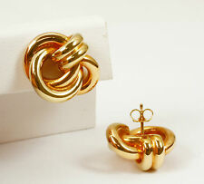 """Knoten "" Ohrringe in 585 Gold"