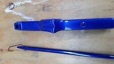 Pulverlack, 1 kg Beschichtungspulver Candy Blau Lasur