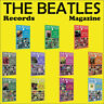 11 x The Beatles Records Magazine: United States, United Kingdom, Spain, Japan..