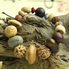 Bodhi Seeds Beads Mala Rosary Jewelry Natural Wood Buddha Bracelets 18 Style