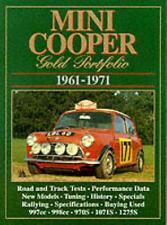 Mini Cooper Gold Portfolio 1961-1971 (Brooklands Books Road Test Books) (Paperb.