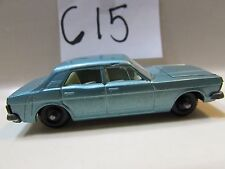 MATCHBOX LESNEY FORD ZODIAC MK. IV #53 - MADE IN ENGLAND LOOSE